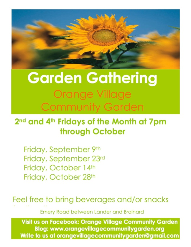 Orange Village Garden Garden Gathering 9.9.16 Flier.jpg