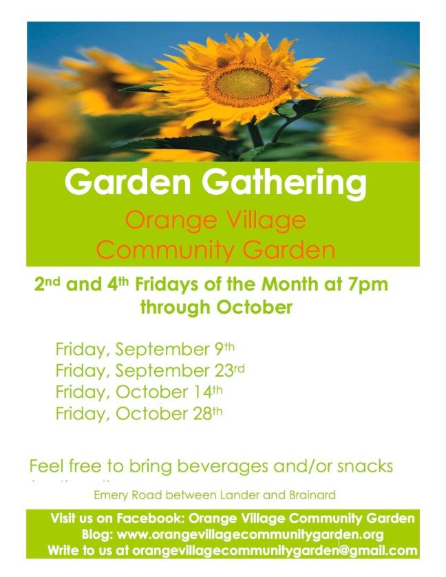 Orange Village Garden Garden Gathering 9.9.16 Flier.jpg